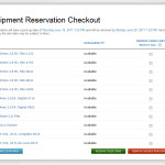 Equipment Reservation